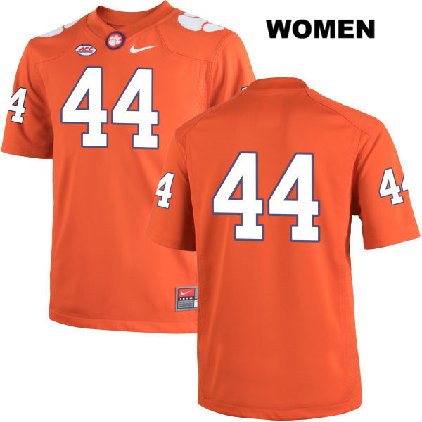 Nike Garrett Williams Stitched Clemson Tigers no. 44 Womens Orange Authentic College Football Jersey - No Name - Garrett Williams Jersey
