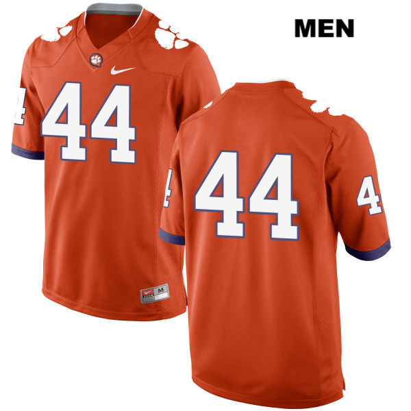 Nyles Pinckney Clemson Tigers no. 44 Nike Mens Orange Stitched Authentic College Football Jersey - No Name - Nyles Pinckney Jersey