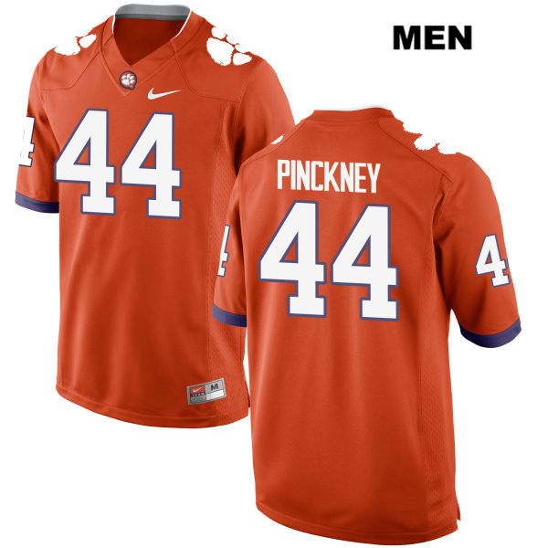 Nyles Pinckney Clemson Tigers Nike no. 44 Mens Stitched Orange Authentic College Football Jersey - Nyles Pinckney Jersey